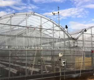 農業用温室ハウスの制御