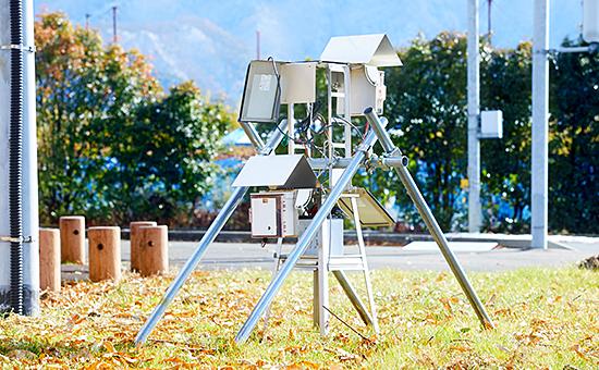 定点カメラ観測システム