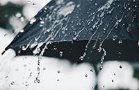 【気象用】雨の降り始め、降り終りの検知